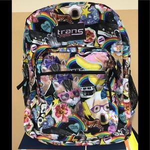 JanSport Superbreak Backpack Multi Hairball